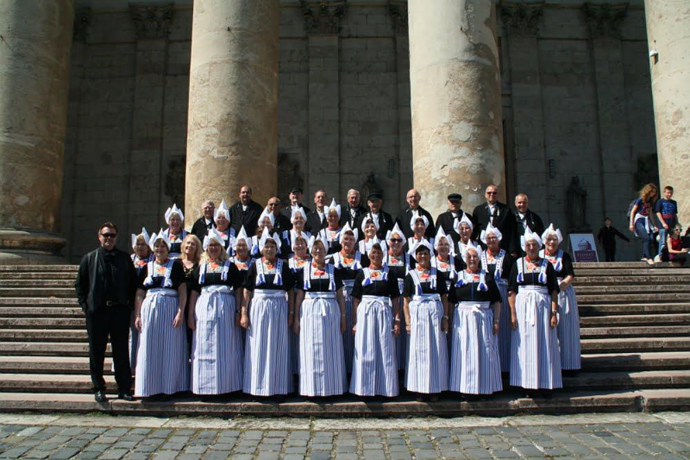 Het koor voor de kathedraal van Esztergom
